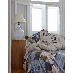 Karaca Home Blue Cool Percale �ift Ki�.Nevr.