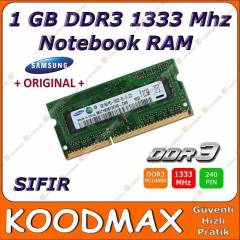 Samsung 1GB 1333Mhz DDR3 Notebook Ram