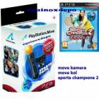 Playstation 3 Move Pack+Sports Champions2 ORJ.