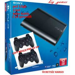Sony Playstation 3 12 gb Super Slim PS3 12+2.KOL
