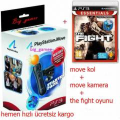 Playstation 3 Move Pack+THE FIGHT oyunu