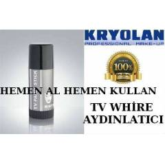KRYOLAN TV PANSTICK  T V WH�RE  G�N�N FIRSATI