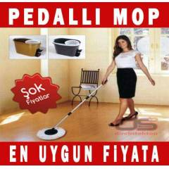 Pedall� Magic Mop TEM�ZL�K SET� + YEDEK PASPAS