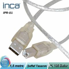 Inca USB 2.0 Printer Kablosu 1.5MT %100 Bak�r