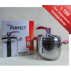 HOME PERFECT BEGONYA D�D�KL� TENCERE 5 LT.