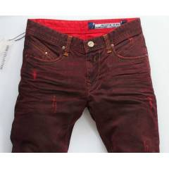 INTEGRAL DENIM BORDO ERKEK JEANS  BOY 34
