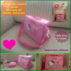 TUPPERWARE BESLENME �ANTASI (Hello Kitty)