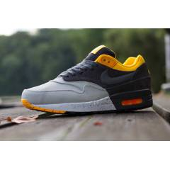 Nike Air Max 1 PRM (Grey / Charcoal / Orange)