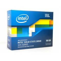 "INTEL 80GB SSD SATA 2.5"" 335 SERISI 500/450"