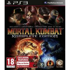 MORTAL KOMBAT KOMPLETE EDITION PS3 OYUNU