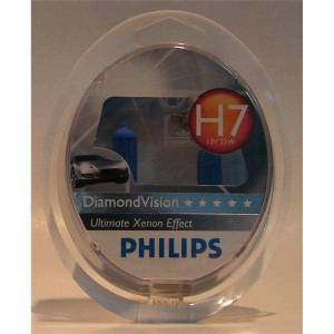 philips 5000K diamond vision H7 amp�l pihilips