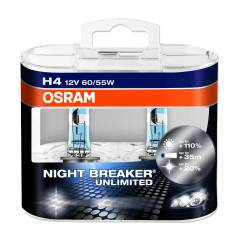 OSRAM NIGHT BREAKER 12v H4 55w Ampul 2 Adet