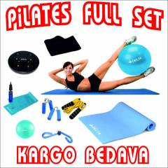 Delta 12'li Pilates Set Top Minder Twister Bant