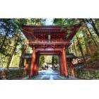 150x100cm KANVAS TABLO TEMPLE GATE �N JAPAN