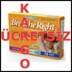 BreatheRight �ocuklar ��in Burun Band� 2Renk IG4