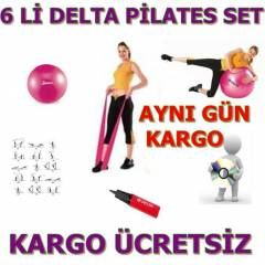 DELTA 6 L� P�LATES SET� PLATES SET BANT CD