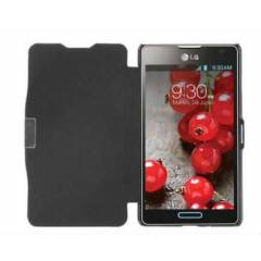 Lg Optimus L5 2 II E460 K�l�f Flip Cover