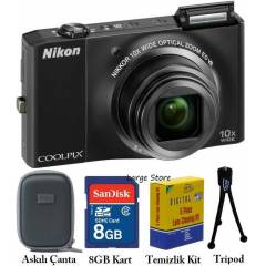 Nikon s8000 14.2 MP HD 10x Foto�raf Makinesi