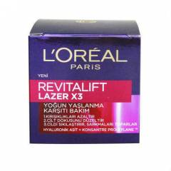 Loreal Expert�se Rev�tal�ft Lazer X3 Krem 50 ML
