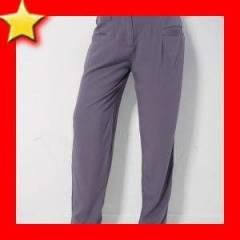 BUSINESS japon �alvar stil pantolon gri S M L
