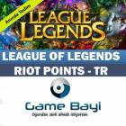 League of Legends 3620 Riot Points RP T�rkiye TR