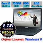 Samsung Laptop i5 8GB, 750GB, 2GB EK.  Windows 8