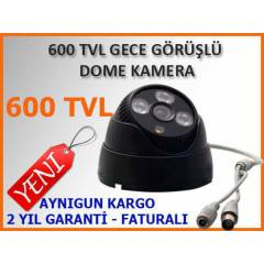 600 TVL 3 ARRAY LED ECE G�R��L� DOME KAMERA-1318