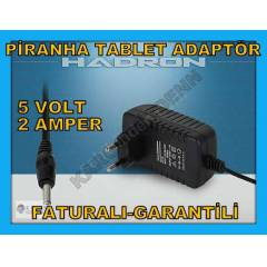 P�RANHA TABLET PC �ARJ ADAPT�R� C�HAZI 5V 2A