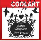 COOLART Duvar Sticker Tabela 2 (st385)