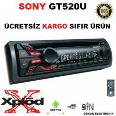 SONY GT520U USB G�R��L� OTO CD MP3 �ALAR