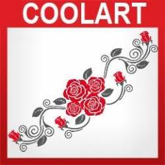 COOLART Duvar Sticker (st413)