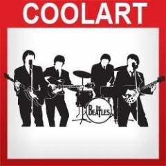 COOLART Duvar Sticker The Beatles (st388)