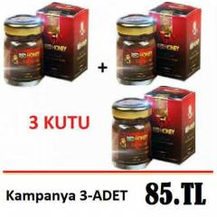 3 KUTU RED HONEY KIRMIZI BAL ORJINAL �R�N
