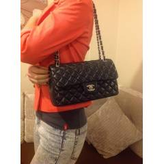Chanel Modeli G�m�� Metal Aksam Medium Boy �anta
