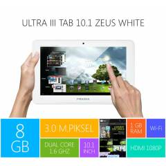 Piranha Ultra III Tab 10.1 Zeus White Tablet PC