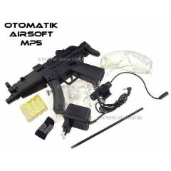 A�RSOFT MP5 �ARJLI OTOMAT�K 6mm PA�NTBALL S�LAHI