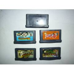 N�NTENDO GAME BOY ADVANCE SP OYUN 5 ADET