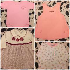 MOTHERECARE - H&M- LCW-C&A  3-6 AY LOT