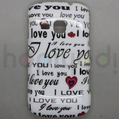 Samsung Galaxy Mini 2 s6500 K�l�f I Love You Des