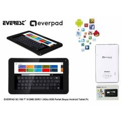 EVEREST 7inc 512MB DDR3 1.0Ghz 8GB Parlak Beyaz