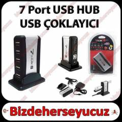7 Port USB HUB - USB �oklay�c� - Adapt�rl�