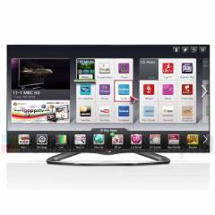 LG 42LA660S DVB-S 3D FHD SMART LED LCD TV+4 G�ZL