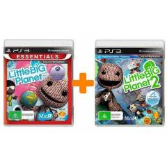 Little Big Planet + Little Big Planet 2  PS3