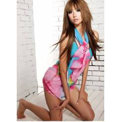 Desenli �ifon Pareo Ladies Beach 1020 RHB701020