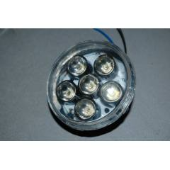 6 POWER LED S�S FARI 10CM 12VOLT