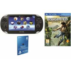 SONY PS V�TA W�-F�+3G+UNCHARTED OYUNU+4GB KART