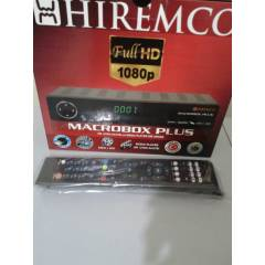 HIREMCO MACROBOX PLUS FULL HD****IPTV*USB Wi-Fi*