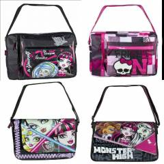 Monster high postac� okul �antas� geni� orjinal