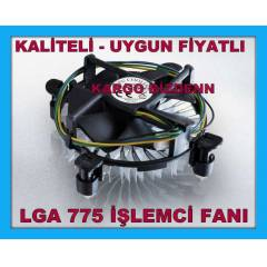 Intel LGA i�lemci Fan� 775 Fan CPU Fan So�utucu