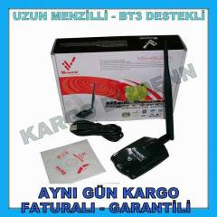 USB WIRELESS ADAPT�R KABLOSUZ ALICI UZUN MENZ�L